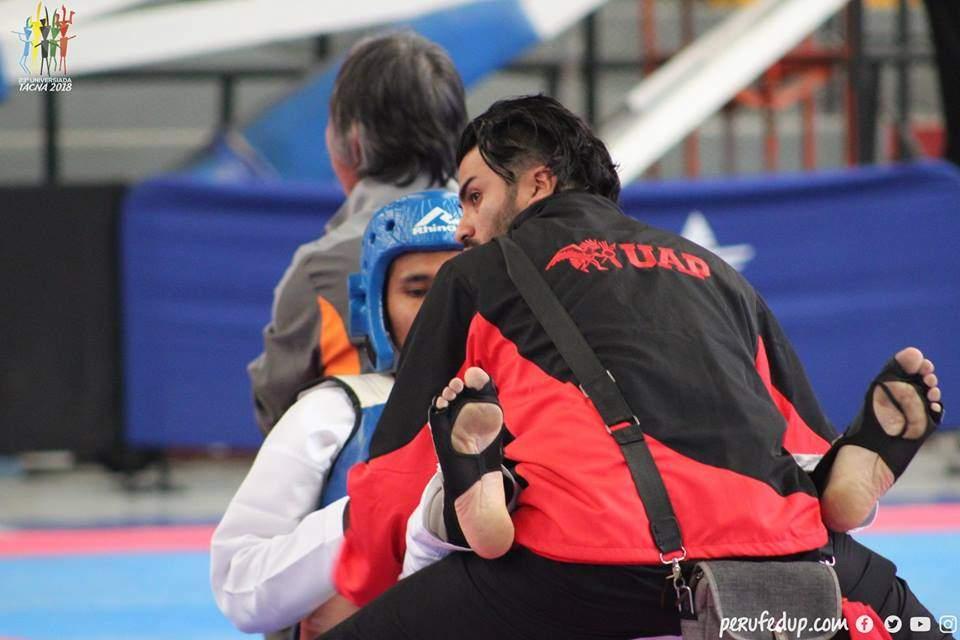 Uap Gana El Oro En Taekwondo Masculino De 58 Kg En 23 Juegos