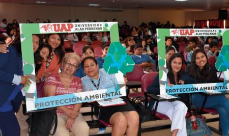 """UAP ORGANIZA CHARLA """"CAMBIO CLIMÁTICO DESDE LA UNIVERSIDAD, EFECTOS, MITIGACIÓN Y ADAPTACIÓN"""""""