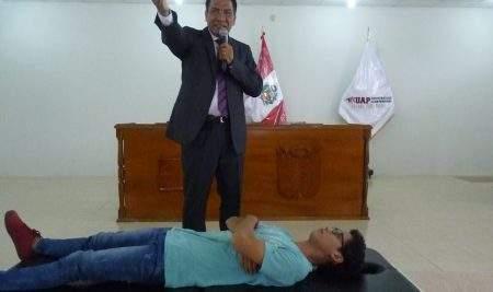 UAP – FILIAL TARAPOTO REALIZA DEMOSTRACIÓN DE MEDICINA BIOMAGNÉTICA