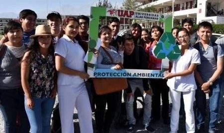 FILIALES DE LA UAP SE SUMAN A CAMPAÑA DE SENSIBILIZACIÓN EN ECOEFICIENCIA