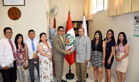 UAP – FILIAL HUACHO Y DIRECCIÓN REGIONAL DE TRABAJO MANTENDRÁN ACCIONES DE COOPERACIÓN INSTERINSTITUCIONAL