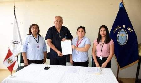 UAP Y HOSPITAL DE SUPE SUSCRIBEN CONVENIO DE COOPERACIÓN INTERINSTITUCIONAL