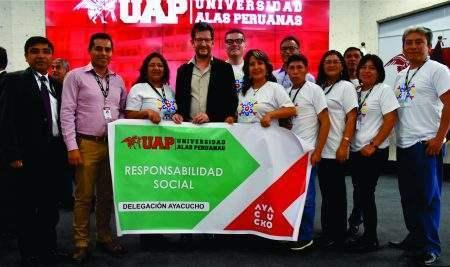 UAP CAPACITA EN RESPONSABILIDAD SOCIAL Y GESTIÓN AMBIENTAL A FILIALES